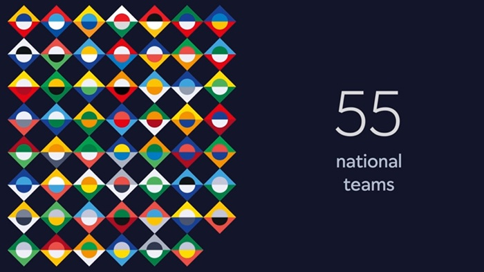 Nations League 55 landen