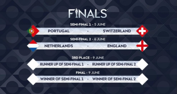 Nederland - Engeland in Final Four